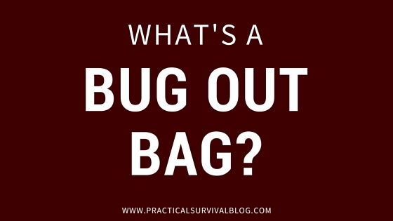 What's a Bug Out Bag