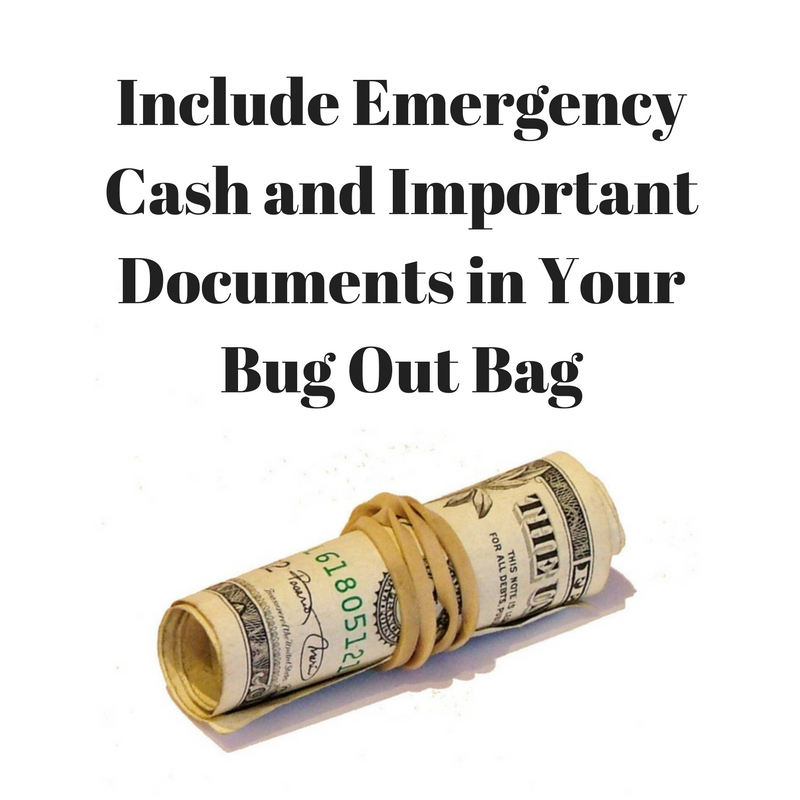 Important Documents in Your Bug Out Bag