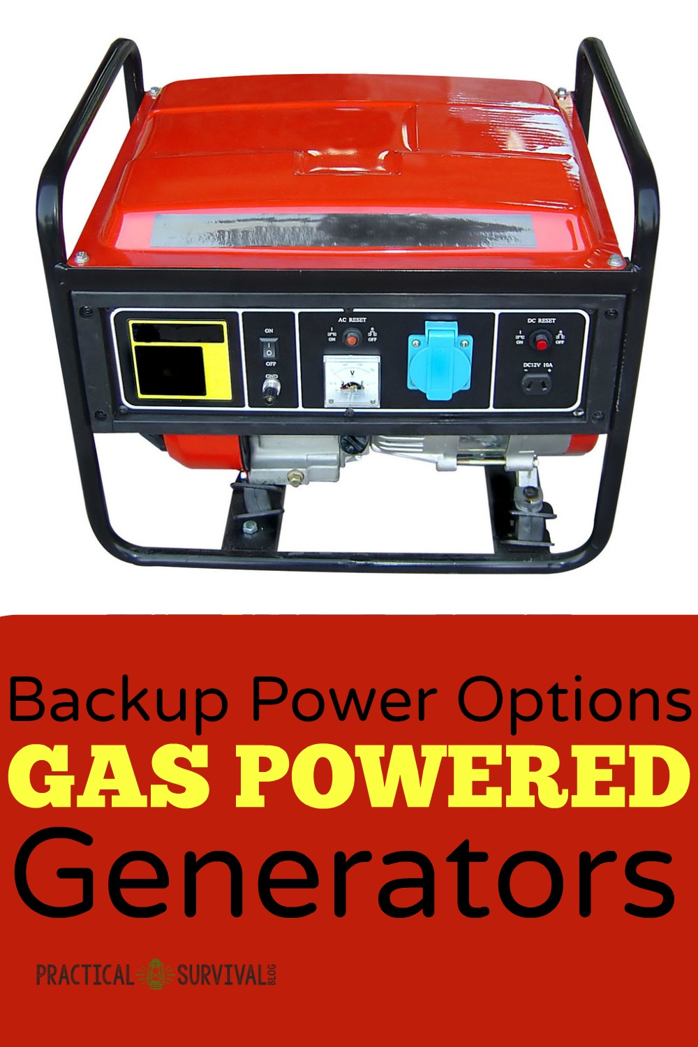 Backup Power Options For When The Goes Out Gas Powered On Reset Generator Generators