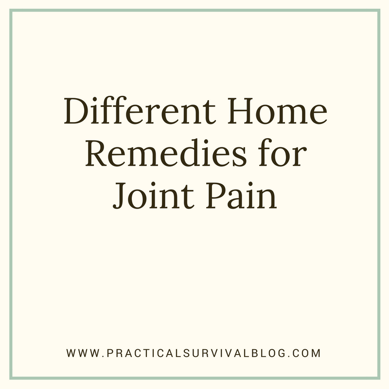 different home remedies for joint pain