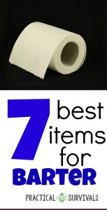 7 best items for barter. There are some good things on this list for bartering