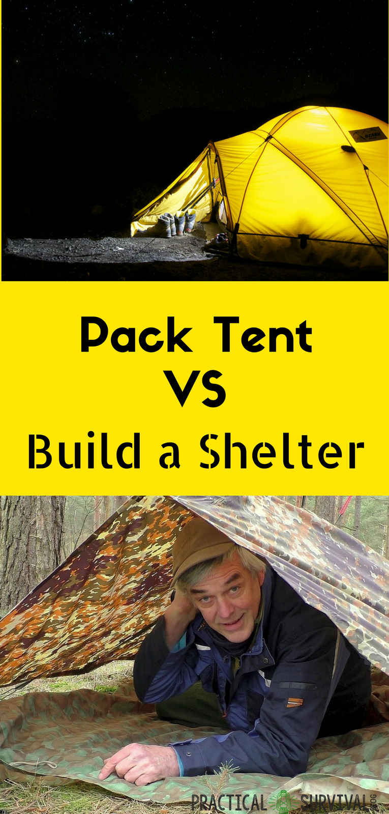 Shtf Shelter: Is It Best To Pack Shelter Or Build Along The Way When