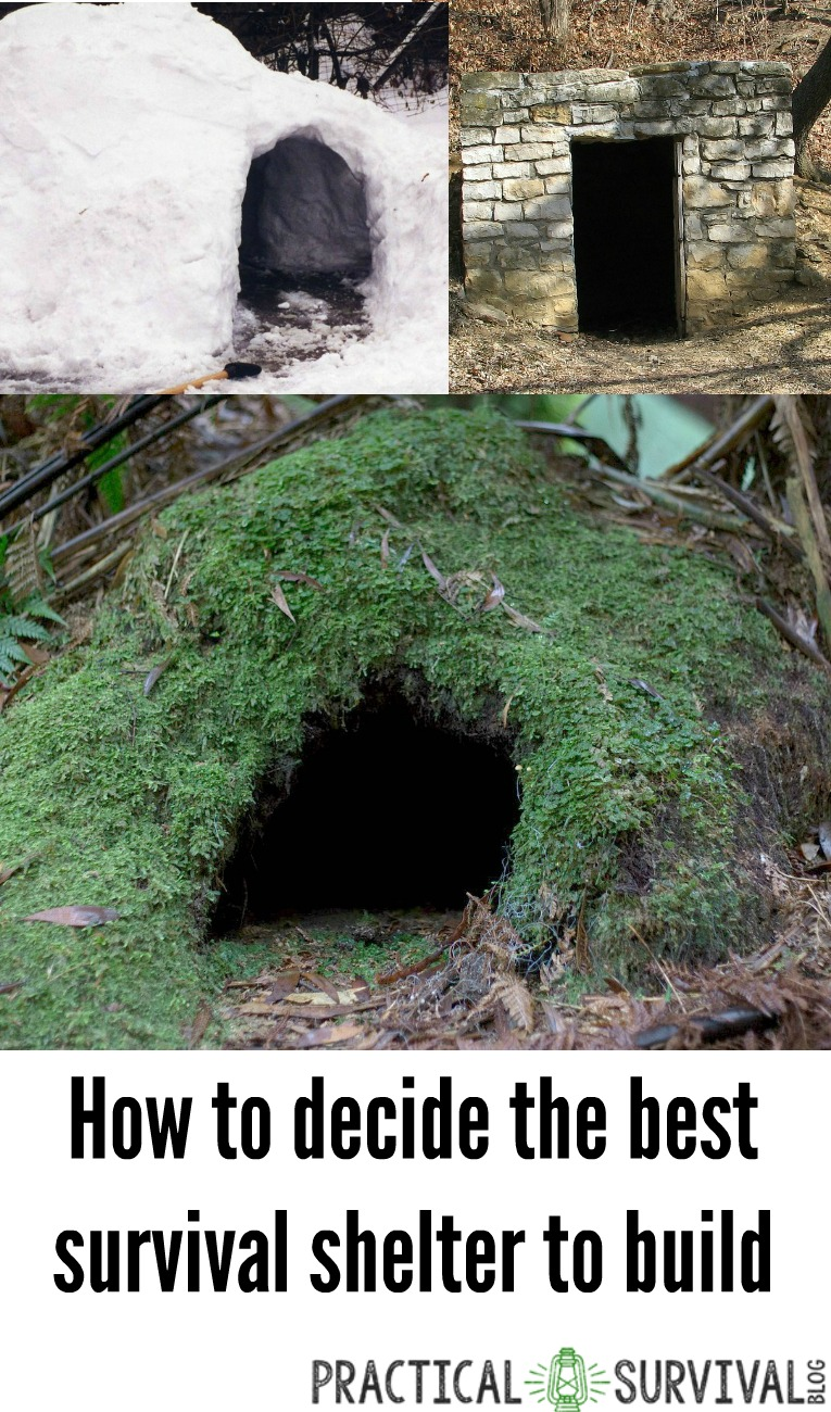 How to Figure Out the Best Survival Shelter to Build ...