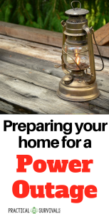 Preparing your Home for a Power Outage