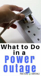 What To Do In A Power Outage Practical Survival Blog