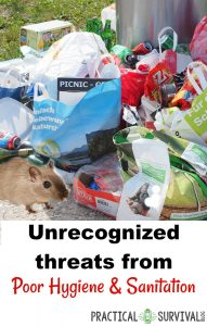 Unrecognized threats from Poor Hygiene and Sanitation