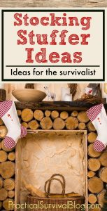 Emergency Preparedness Stocking Stuffer Ideas